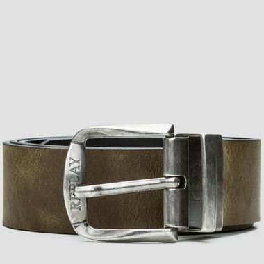 Men's leather belt - Replay AM2240_000_A3001_976_1