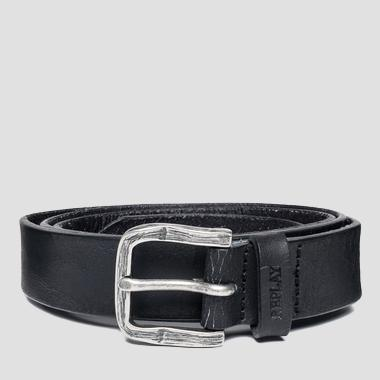 Men's cracked leather belt - Replay AM2468_000_A3000AR_098_1
