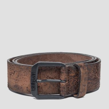 Sioux leather belt - Replay AM2551_000_A3002_119_1