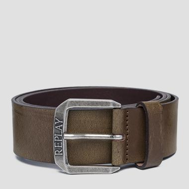 Used effect leather belt - Replay AM2575_000_A3001_110_1