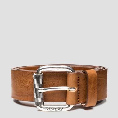 REPLAY belt in vintage leather - Replay AM2613_000_A3077_045_1