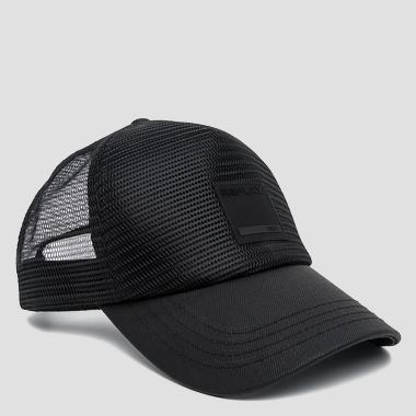 Baseball cap with perforated panel - Replay AM4149_000_A0244C_098_1