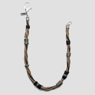 Rope chain with snap hook - Replay AM7031_000_A0045A_008_1