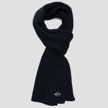 Ribbed knit scarf - Replay AM9220_000_A7003_499_1