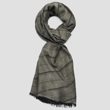 Striped REPLAY scarf - Replay AM9224_000_A0383A_057_1