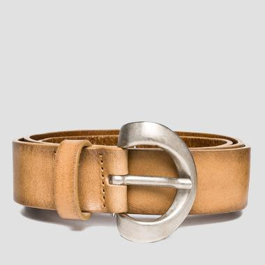 Women's douglas leather belt - Replay AW2442_000_A3007_045_1