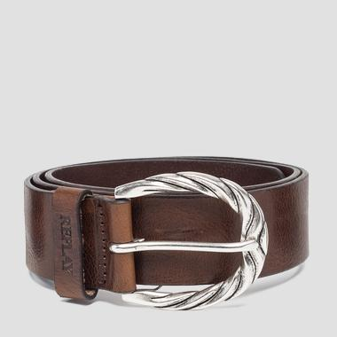Ceinture à boucle arrondie - Replay AW2507_000_A3007_127_1