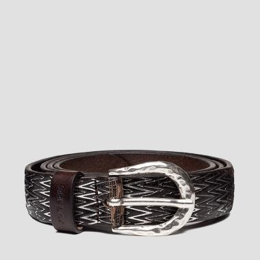 REPLAY leather belt - Replay AW2540_000_A3185_128_1