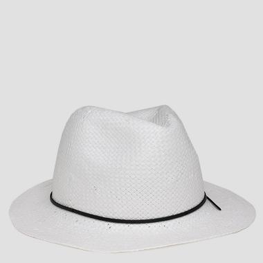 Woven straw hat - Replay AW4172_000_A0012F_002_1