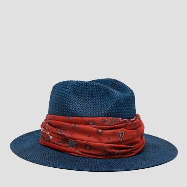 Wide-brimmed hat - Replay AW4236_000_A0012V_499_1