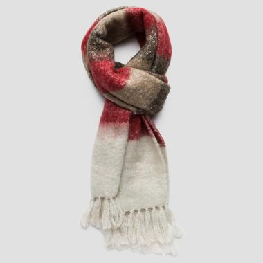 Wool blend scarf - Replay AW9245_000_A0310_1280_1