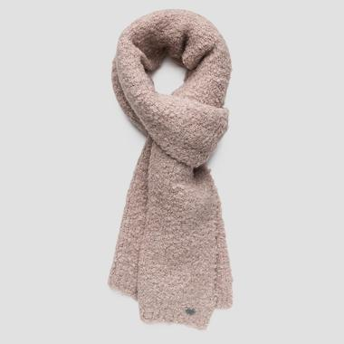 Bouclé knit scarf - Replay AW9249_000_A7092A_233_1