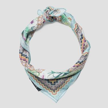 Floral-print headscarf - Replay AW9255_000_A0190H_1051_1