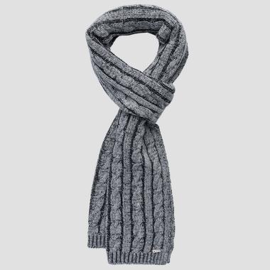 Ribbed scarf REPLAY - Replay AW9268_000_A7098_016_1