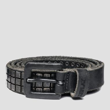 Unisex belt with square studs - Replay AX2212_000_A3007_098_1