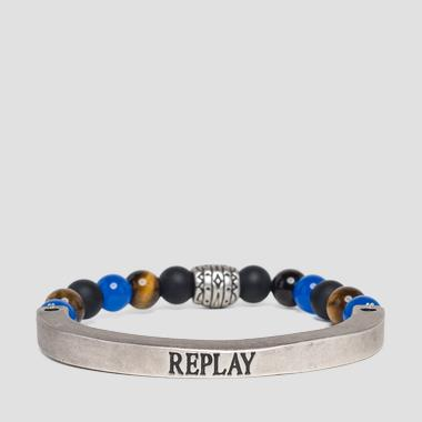 Metal bracelet with stones - Replay AX7093_000_A6006_1273_1