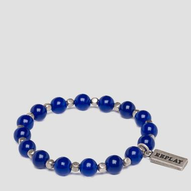 Bracelet with stones and pearls - Replay AX7110_000_A0262_517_1