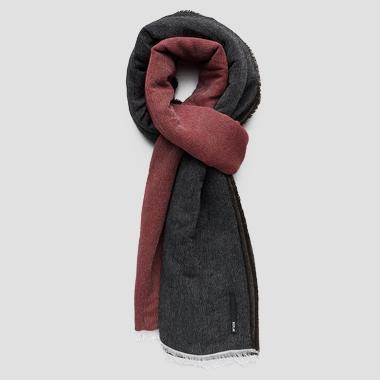 Unisex fringed scarf - Replay AX9206_000_A0370_1207_1