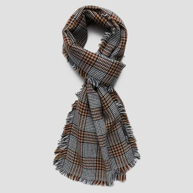 Wool blend scarf - Replay AX9218_000_A0400_1286_1