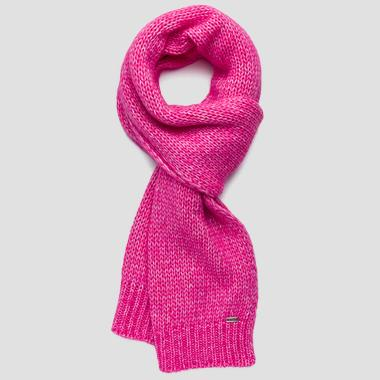 Ribbed melange scarf - Replay AX9230_000_A7094_317_1