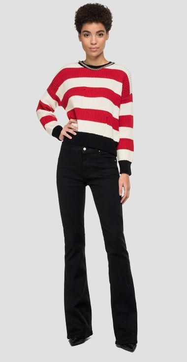 Sweater with striped chain - Replay DK1317_000_G22642_030_1