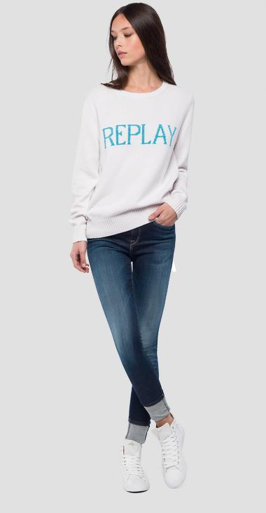 REPLAY print sweater - Replay DK1350_000_G22458_011_1