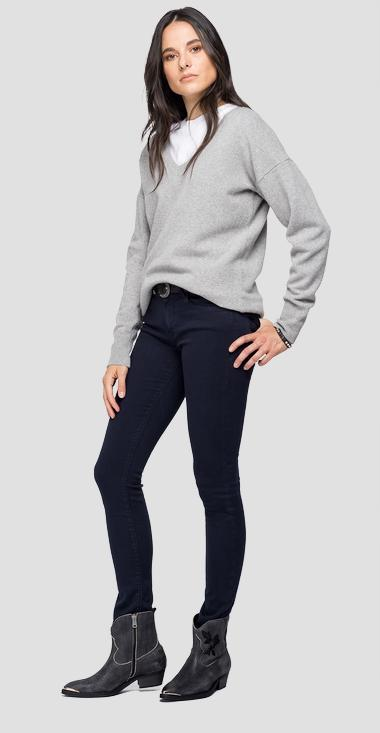 Recycle Cashmere Replay Sweater - Replay DK7054_000_G22736B_M03_1