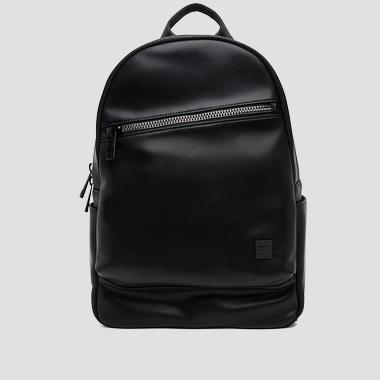 Matte faux leather backpack - Replay FM3269_000_A0015_098_1
