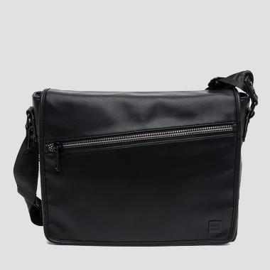 Matte faux leather messenger bag - Replay FM3273_000_A0015_098_1