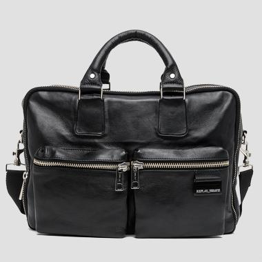 Leather shoulder handbag - Replay FM3292_000_A3127_098_1