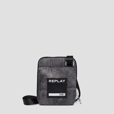 Borsa a tracolla in marble denim - Replay FM3382_000_A0013N_299_1