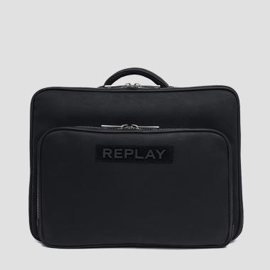 Laptop bag in eco-leather - Replay FM3412_000_A0375A_098_1