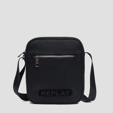 Eco-leather shoulder bag - Replay FM3413_000_A0375A_098_1
