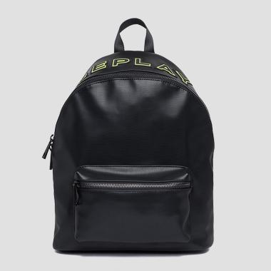 Shiny eco-leather backpack - Replay FM3415_000_A0392_098_1