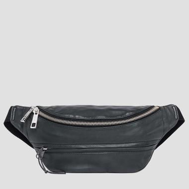 Leather waist bag - Replay FM3424_000_A3176_098_1