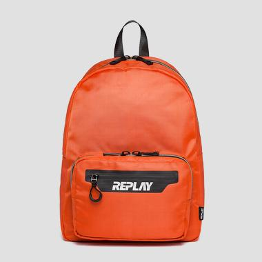 Canvas and nylon Replay backpack - Replay FM3432_000_A0330_194_1