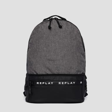 Backpack with pockets - Replay FM3447_000_A0735_1324_1