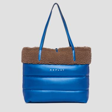 PU bag with pudded effect - Replay FW3055_002_A0258C_1371_1