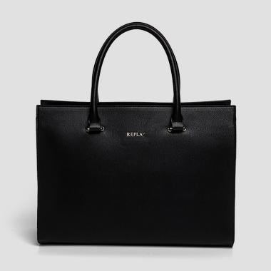 Faux leather bag with clutch - Replay FW3652_000_A0283_098_1