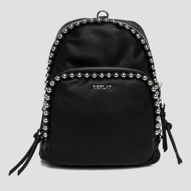 Beaded faux leather backpack - Replay FW3666_000_A0180C_098_1
