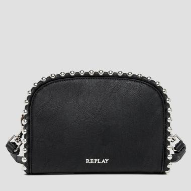 Beaded faux leather clutch - Replay FW3667_000_A0180C_098_1