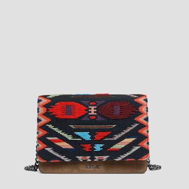 Ethnic style shoulder bag - Replay FW3788_004_A3044_1218_1