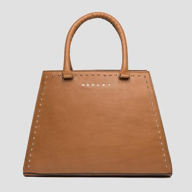 Trapeze-shaped bag with studs - Replay FW3833_000_A3127C_045_1
