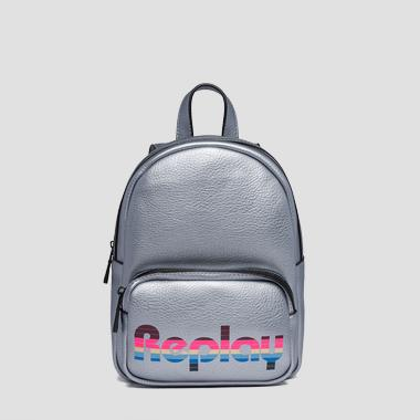 Backpack with contrasting logo - Replay FW3849_000_A0132D_056_1