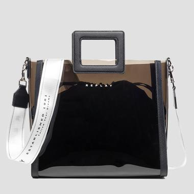 Bolso shopper transparente - Replay FW3877_000_A0075_098_1