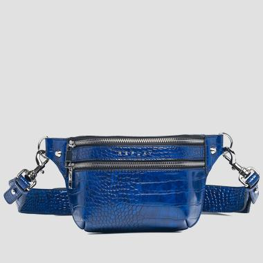 Belt bag with crocodile effect - Replay FW3892_000_A0292D_512_1