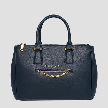 Handbag with pocket and strap - Replay FW3898_000_A0132D_506_1