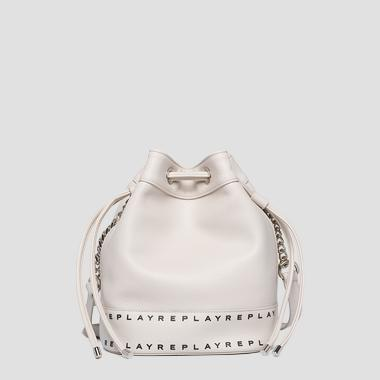 Bucket bag in hammered eco-leather - Replay FW3905_000_A0132D_020_1