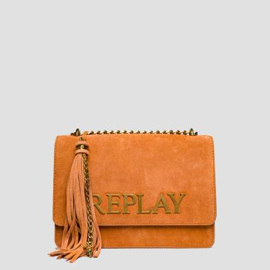 Suede shoulder bag - Replay FW3910_001_A3154_207_1