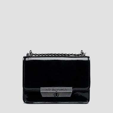 Shoulder bag with varnish effect - Replay FW3911_008_A0023_098_1